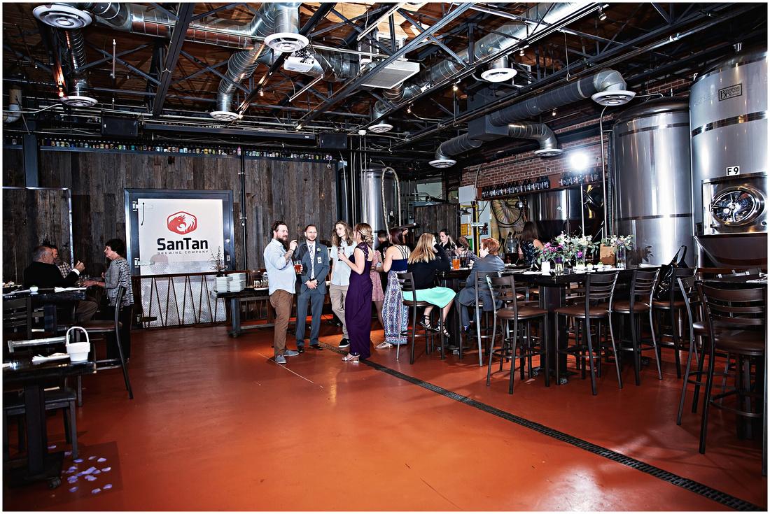SanTan Brewing Company Wedding
